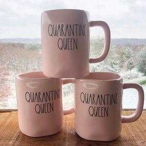 Rae Dunn Quarantine Queen mug